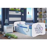 Blue Toddler Bed Kids Bed Junior Children