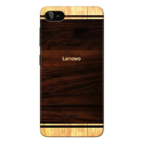 Crazyink Lenovo Zuk Z2 Plus Premium Stylish Printed Brand Logo Designer Hard Back Cover Case (Brown)