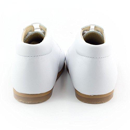 Boni New Baby - chaussure bébé premier pas Blanc