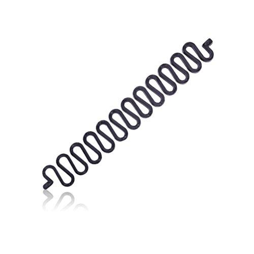 LUFA Dispositif de disque de cheveux d'onde de tresse de cheveux de tresse de cheveux des femmes