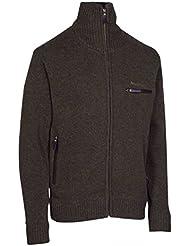 Deer Hunter 8872punto chaqueta Cardigan 383Dark ELM (oscuro marrón)