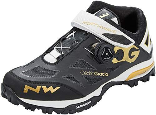 Northwave Enduro Mid MTB Fahrrad Schuhe schwarz/weiß 2020: Größe: 43