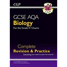 New Grade 9-1 GCSE Biology AQA Complete Revision & Practice with Online Edition (CGP GCSE Biology 9-1 Revision)