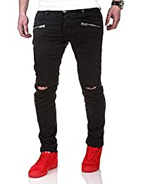 MT Styles Biker Jeans Slim Fit Chino-pantalon RJ-2010