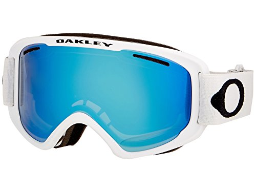Oakley Uni 02 Medium 706602 0 Sportbrille, Weiß (Matte White/Violetiridium), 99