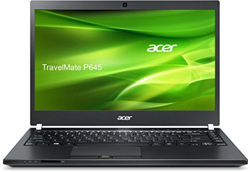 Acer TravelMate P645 (P645-SG-71FV) 35,56 cm (14 Zoll) Full HD Notebook (Intel Core i7-5500U, 8 GB RAM, 256 GB SSD, Nvidia GeForce 840M, Win 10 Pro) schwarz
