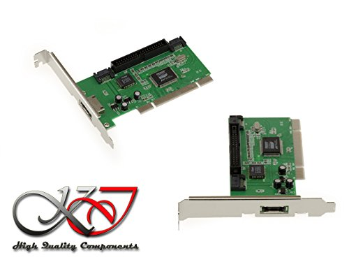Kalea Informatique Karte Controller IDE SATA eSATA auf Port PCI – Chipsatz Promise pcd20378 – Windows 98, 2000, XP, Vista, Seven, 8, 8.1, 10.