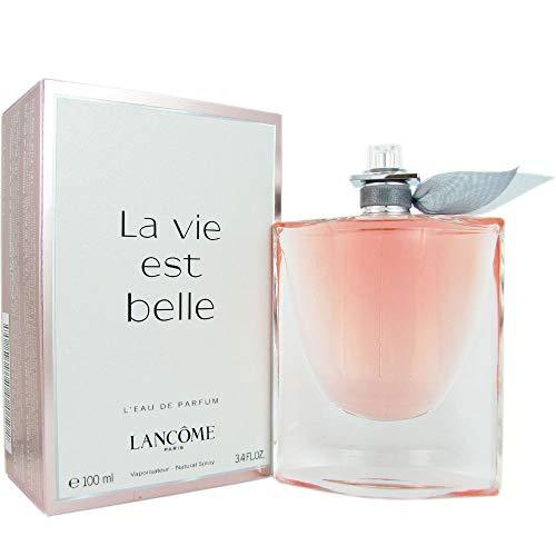 LANCOME PARIS La vie est belle lancome l'eau de parfum vaporisateur pour Femme 3.4 Onces Rose