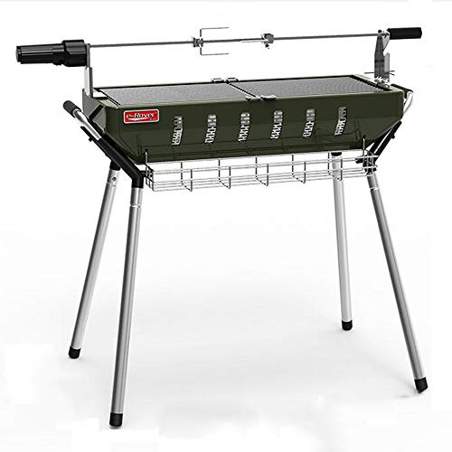 T-XYD Portable BBQ Holzkohle Klappgrill Garten Raucher