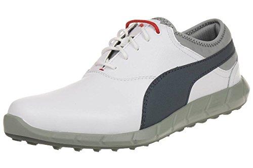 Puma Ignite Golf Men Golfschuhe white leather 188679 02, pointure:eur 44