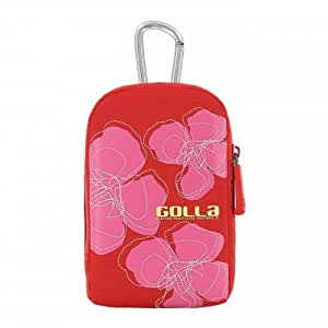 Golla Isle Etui pour Appareil Photo Rouge