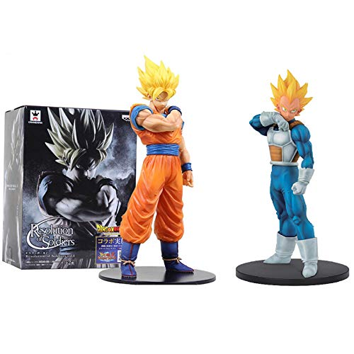 Resolutions Soldiers Figura Vegeta Super Saiyan Dragon Ball Z Figura de acción en PVC Dragonball Colección Akira Toriyama