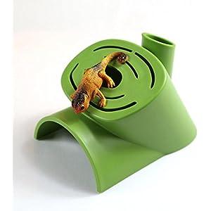 Reptil Haustier Versteck Plastikreptil Schutz Versteck Höhle für Spinnen-Eidechsen-Schildkröten von Cool Ring