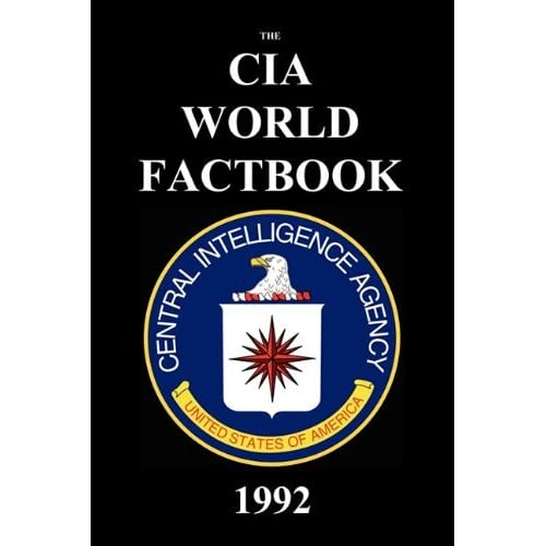 CIA World Factbook 1992 by Cia (2010-11-01)