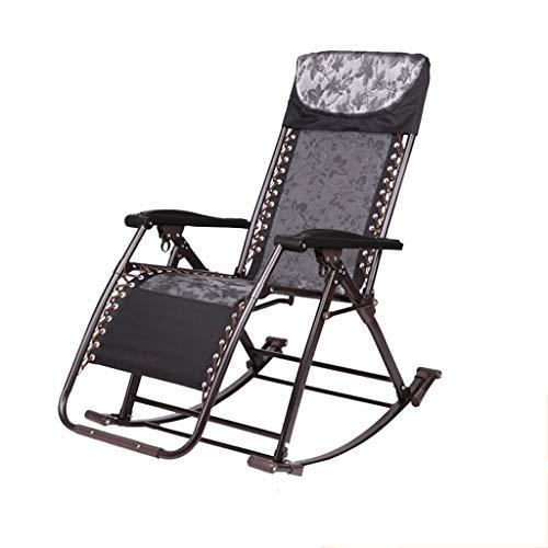 Klappstuhl Zuhause Freizeit Schaukelstuhl Liege Falten Mittagspause Stuhl Büro Nickerchen Lounge Stuhl Ältere Schwangere Frauen Stehen Zur Verfügung