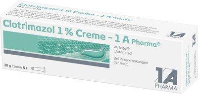 CLOTRIMAZOL 1% Creme 1A Pharma 20 g -