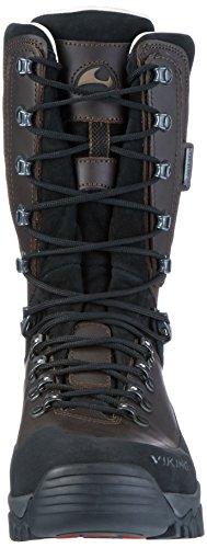 Viking Hunter High Gtx, Chaussures de Chasse Mixte Adulte Marron foncé