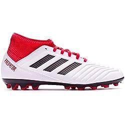 size 40 9d6eb 4a06e Adidas Predator 18.3 AG J, Botas de Fútbol Unisex Niño, Blanco (Ftwbla