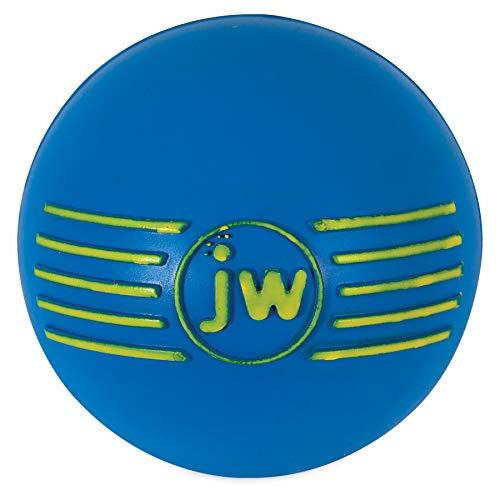 J.W. JW JW43031 Isqueak Ball, Quietschen Dicker Gummiball für Hunde, M -