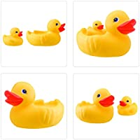 Plage Wall tiles stickers, Bath duck, 4 Sheets, each 14,5 x 14,5 cm