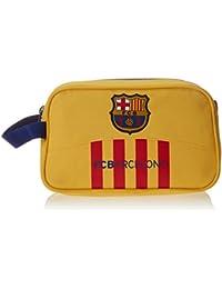 Safta Barça-2 Neceser Doble, Color Amarillo