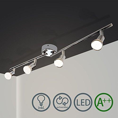 fsders a 1de hg2706, aluminio, 4puntos de luz techo foco