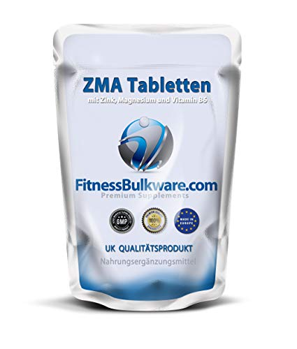 ZMA Kapseln 500 Stück I ZINK & MAGNESIUM I Stärkung des Immunsystems I made in UK