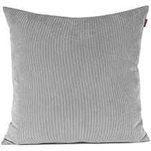 Baibu Einfach Dekorativ Sofa Kissenbezug Kissenhlle Mit Verdecktem Reissverschluss Aus Kord In 10 Modernen Farben Und