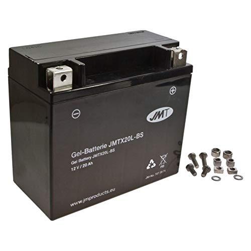 YTX20L-BS JMT Gel Batterie für Maverick 1000 X-ds Max Turbo Baujahr 2015
