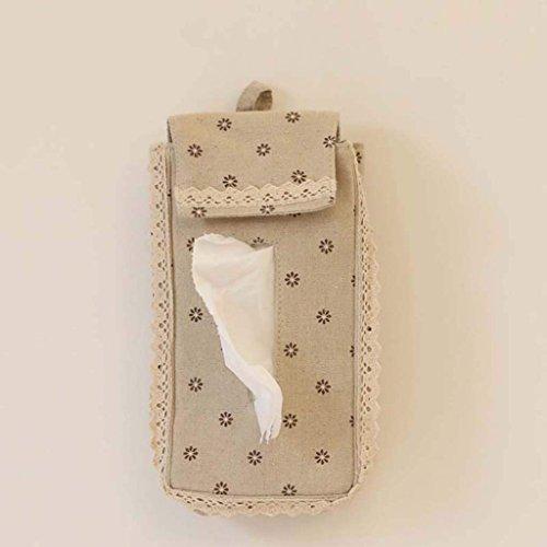 Jiaa Wohnkultur Produkte mit Modernen und Stilvollen Aussehen Design Stoff Hängende Art Papier Keine Bohren Universal Verwendung Zeichnung Karton Zimmer Bad WC Handtuch Tasche beheizte Handtuch,G
