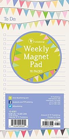 TF Publishing bannières 70Page magnétique Liste