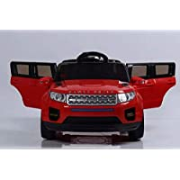 Reliance 12V Range Rover style Kids Ride on Car Red with Power Steering