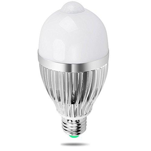 Lampadina LED Sensore, iRainy E27 9W Lampadine