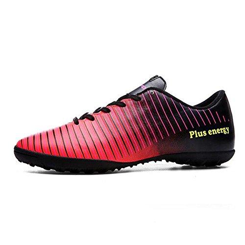 Mr. LQ - Chaussures de football pour adulte Red / Black