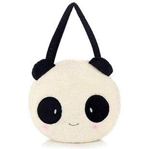 FAIRYSAN, Borsa tote donna bianco White and black panda White and black panda