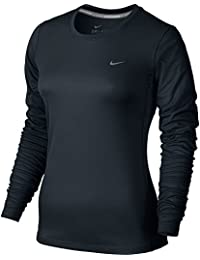 NIKE Miler Manches Longues Femme Manches
