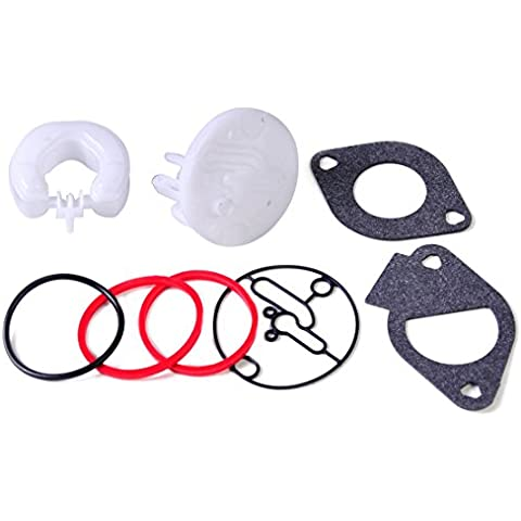 Carburatore Ricostruire il kit di riparazione Fit for Nikki Carb Briggs & Stratton Maestro revisione 796184