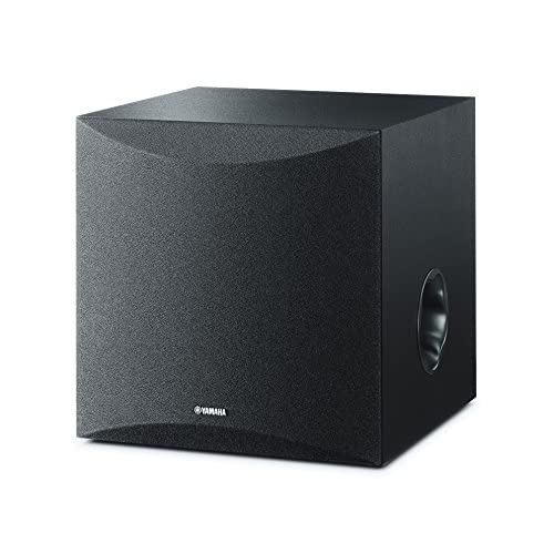 41TPl%2BylwkL. SS500  - Yamaha NSSW050 Powered Subwoofer with 8 Driver - Black