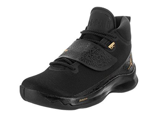 Pre Schuhe Order (Jordan - PRE ORDER - Air Jordan Super Fly 5 PO 'Power Black' - 881571 015 - EU 42.5 - US 9 - UK 8 - CM)