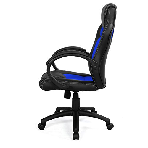 Best Saving for FDS Racing Office Chair Sports Gaming Executive Swivel Armchair (Blue) on Line