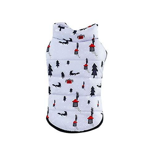 Dobbi Hundebekleidung Welpen Weich Warme Kostüme Dog Cute Wintermäntel Hundejacke Gefüttert Coat Herbst Winter Haustier Hunde Dicke Costume Pet Kleidung Hundemantel Verdickte Comfort - Cute Dog Kostüm