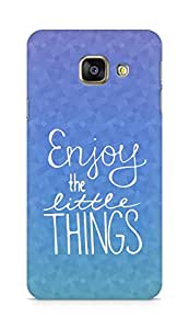 AMEZ enjoy the little things Back Cover For Samsung Galaxy A3 (2016 EDITION)