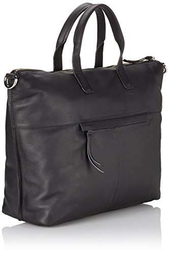BREE Toulouse 5, Borsa a mano donna Nero (Schwarz (black smooth 909))