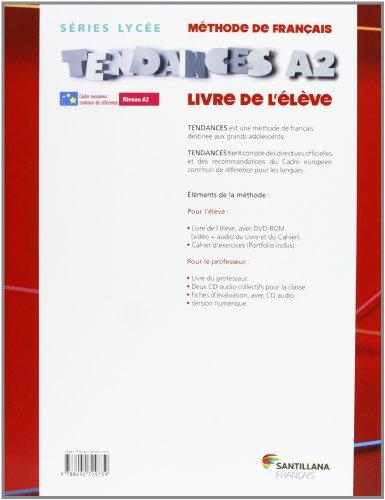 TENDANCES A2 -  ELEVE + DVDR - 9788492729739