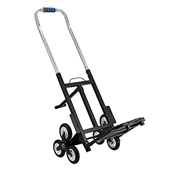 Happybuy Stair Climbing Cart 190 Kg Capacity All Terrain