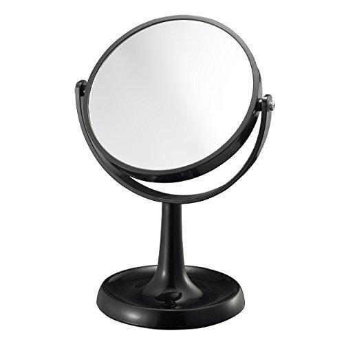 Mari Home - Schminkspiegel, 1X und 3X Vergrößerung, schwarzer Kosmetikspiegel, doppelseitiger...