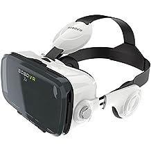 Bobovr Z4 3D VR Virtual Xiaozhai Z4 Realidad Virtual Gafas con Lente Ajustable y Correa para IOS iPhone 6/6 Plus y Android Galaxy S6 Edge +, Celurares Inteligente entre 4.0 y 6.0 Pulgadas