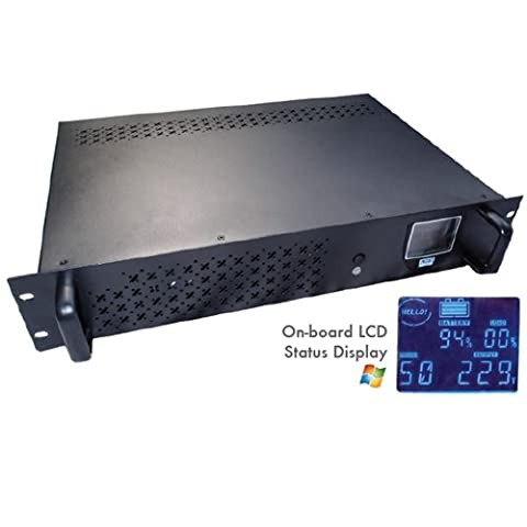 Intelligent Rack-Mount Off-Line UPS 1200VA with LCD & USB