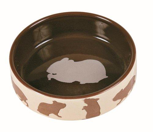 Trixie Keramiknapf mit Motiv, Hamster, 80 ml/ø 8 cm