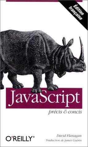 JavaScript précis et concis